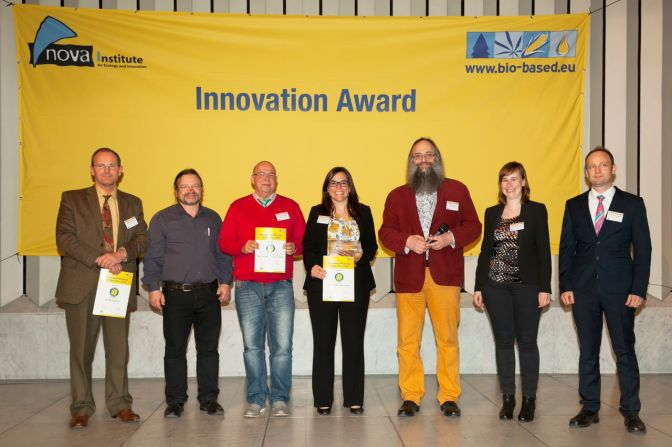 Innovation Award – Bio-Based Material of the Year 2015.