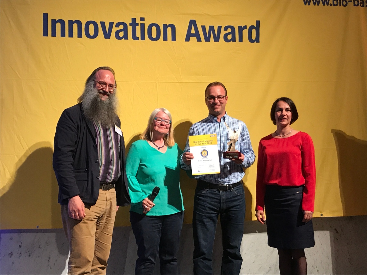 Innovation Award 2018 Bio-based Material of the Year