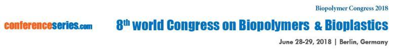 Biopolymer Congress 2018